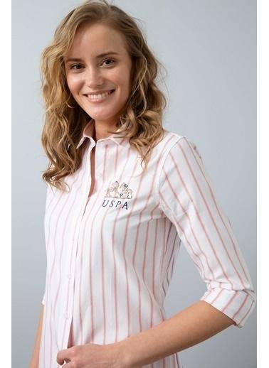 U.S. Polo Assn. Gömlek Fuşya